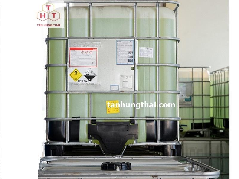 Hydrogen peroxide H2O2 - Oxy già dạng tank