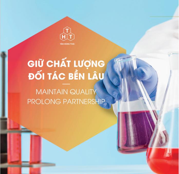 Hóa chất Tân Hùng Thái đối tác bền lâu của quý khách hàng toàn quốc